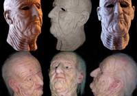 scultura invecchiamento - riproduzione in gelatina