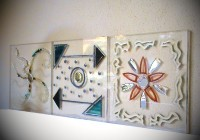 piastrelle plexiglass decorato